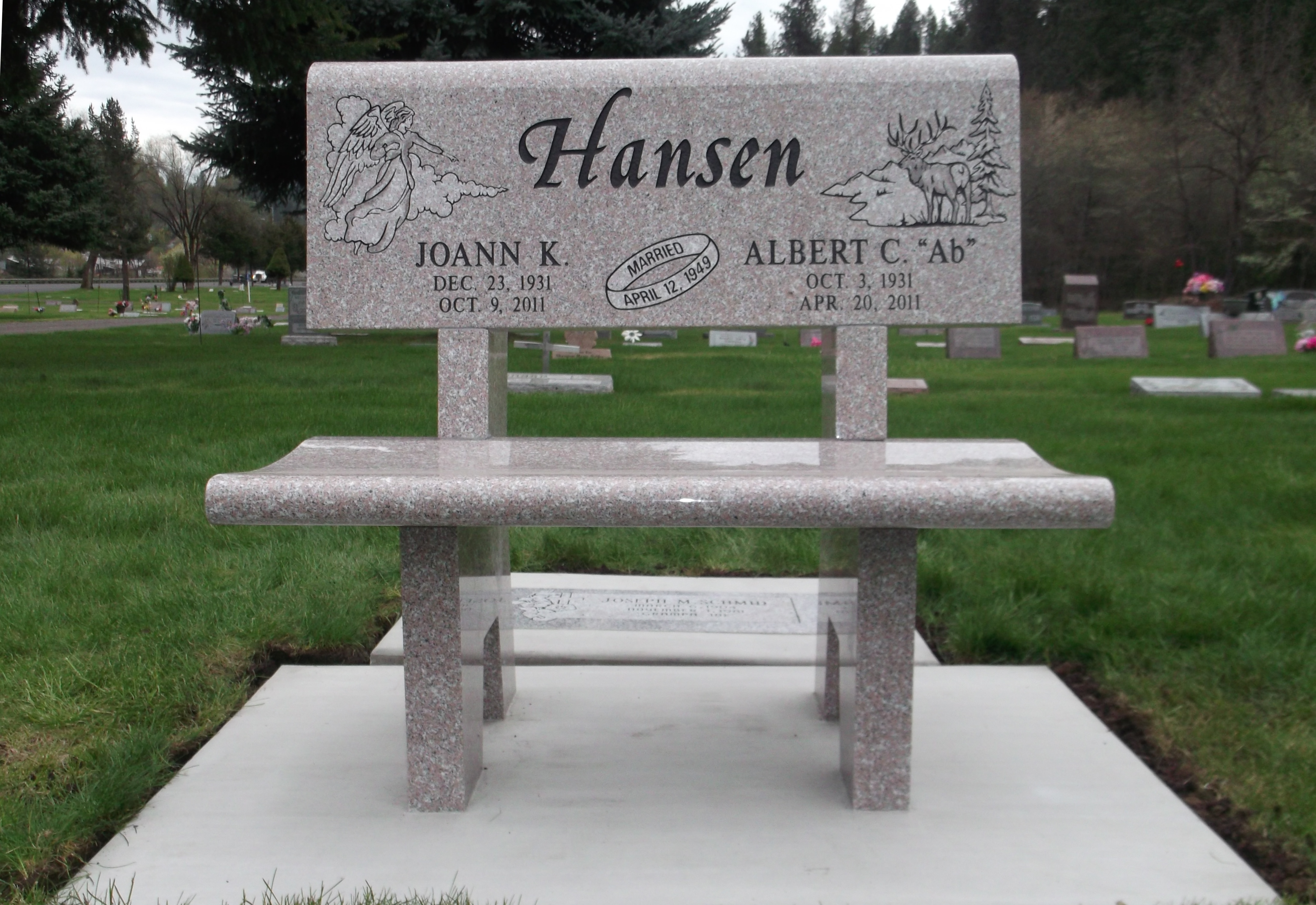 Headstones And Monuments In Lewiston Idaho